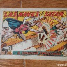 Tebeos: EL ESPADACHIN ENMASCARADO Nº 72 EDITORIAL VALENCIANA ORIGINAL. Lote 197739811