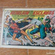 Tebeos: EL ESPADACHIN ENMASCARADO Nº 80 EDITORIAL VALENCIANA ORIGINAL. Lote 197739945