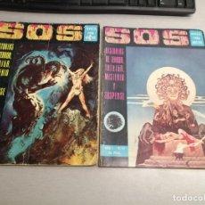 Tebeos: SOS / LOTE CON 2 NÚMEROS: 9 Y 17 / EDIVAL - VALENCIANA 1975. Lote 197767390