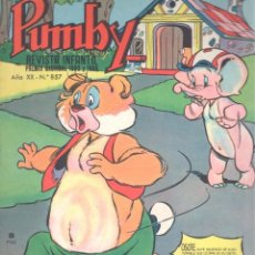 BDs: PUMBY 857. Lote 197770933