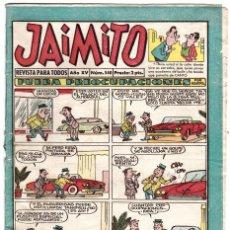 Tebeos: JAIMITO, Nº 540 - EDITORIAL VALENCIANA 1945. Lote 197987926