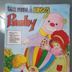 Tebeos: GRAN ALBUM DE JUEGOS PUMBY. Lote 198074148