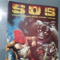 Tebeos: SOS RETAPADO 41 A 44 AMBOS INCLUSVE. HISTORIAS DE TERROR, INTRIGA, MISTERIO Y SUSPENSE. Lote 198075168