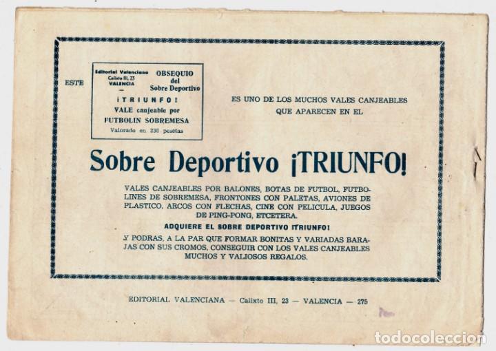 Tebeos: EL RAPTO DE LUISA 275 ROBERTO ALCAZAR Y PEDRIN ORIGINAL - Foto 2 - 198106043