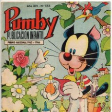 Tebeos: PUMBY Nº 555 (VALENCIANA 1968). Lote 198151487