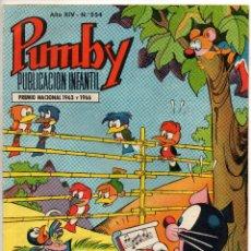 Tebeos: PUMBY Nº 554 (VALENCIANA 1968). Lote 198151568