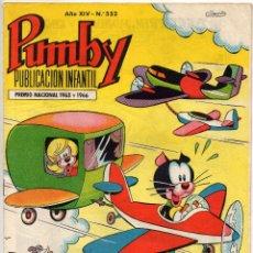 Tebeos: PUMBY Nº 552 (VALENCIANA 1968). Lote 198151647