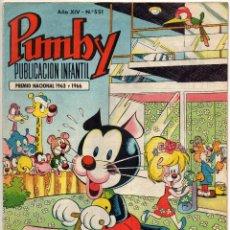 Tebeos: PUMBY Nº 551 (VALENCIANA 1968). Lote 198151746