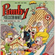 Tebeos: PUMBY Nº 536 (VALENCIANA 1968). Lote 198152006