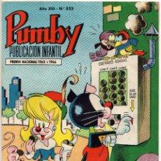 Tebeos: PUMBY Nº 533 (VALENCIANA 1967). Lote 198152313