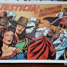 Tebeos: EL ESPADACHÍN ENMASCARADO Nº 4: ¡JUSTICIA! . Lote 198154140