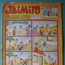 Tebeos: JAIMITO Nº 1062 HEROES DEL DEPORTE DIBUJOS DE AMBROS. Lote 198406670