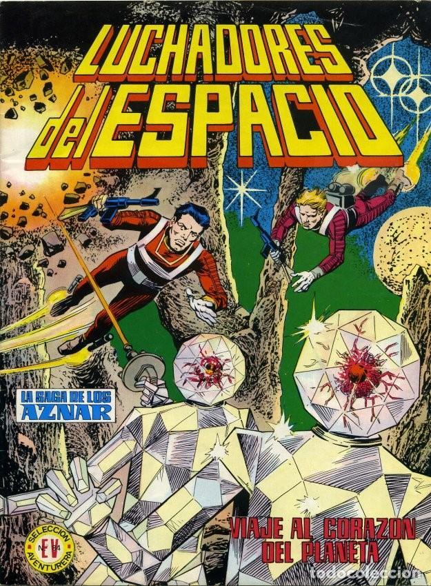 LUCHADORES DEL ESPACIO LA SAGA DE LOS AZNAR NUMERO 13. EDITORIAL VALENCIANA COLOR (Tebeos y Comics - Valenciana - Selección Aventurera)