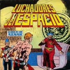 Tebeos: LUCHADORES DEL ESPACIO LA SAGA DE LOS AZNAR NUMERO 17. EDITORIAL VALENCIANA COLOR. Lote 198519502