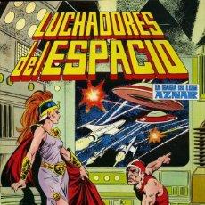 Tebeos: LUCHADORES DEL ESPACIO LA SAGA DE LOS AZNAR NUMERO 21. EDITORIAL VALENCIANA COLOR. Lote 198519665