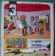Tebeos: SUPER3 Nº 5 LA CUENCA DEL RED RIVER DIBUJOS DE AMBROS. Lote 198640925