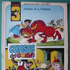 Tebeos: SUPER3 Nº 7 JUEGO POR SORPRESA DIBUJOS DE AMBROS. Lote 198641125