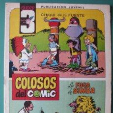 Tebeos: SUPER3 Nº 8 LA FUGA DE SIMBA DIBUJOS DE AMBROS. Lote 198641308