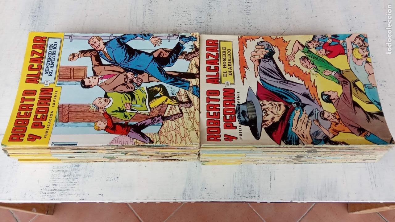 Tebeos: ROBERTO ALCAZAR Y PEDRIN 2ª ÉPOCA - LOTE 79 TEBEOS - VALENCIANA 1976 A COLOR - Foto 2 - 198760456