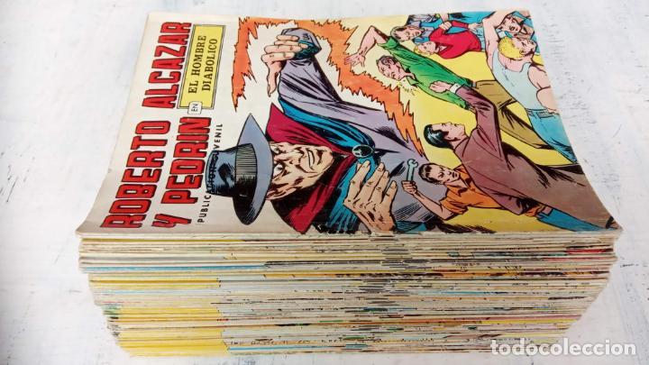 ROBERTO ALCAZAR Y PEDRIN 2ª ÉPOCA - LOTE 79 TEBEOS - VALENCIANA 1976 A COLOR (Tebeos y Comics - Valenciana - Roberto Alcázar y Pedrín)