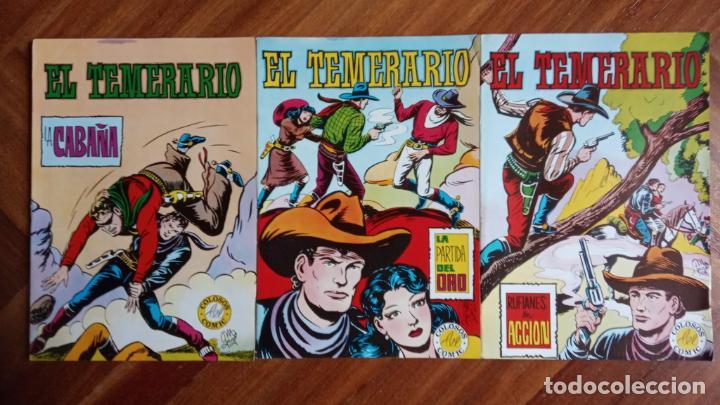 Tebeos: EL TEMERARIO EDI. VALENCIANA 1976 NºS 2 AL 10 - Foto 2 - 198760718