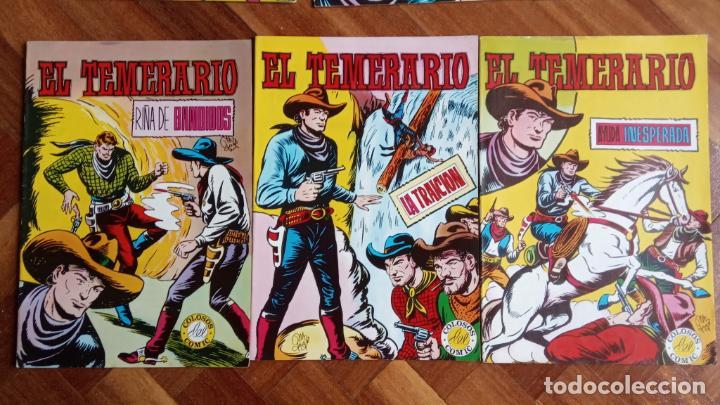 Tebeos: EL TEMERARIO EDI. VALENCIANA 1976 NºS 2 AL 10 - Foto 3 - 198760718