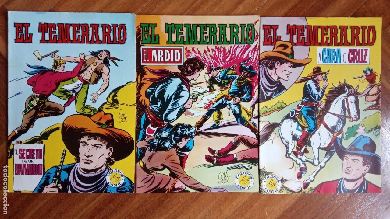Tebeos: EL TEMERARIO EDI. VALENCIANA 1976 NºS 2 AL 10 - Foto 4 - 198760718