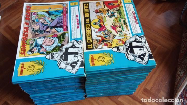 EL GUERRERO DEL ANTIFAZ HOMENAJE A GAGO - 73 NºS (Tebeos y Comics - Valenciana - Guerrero del Antifaz)