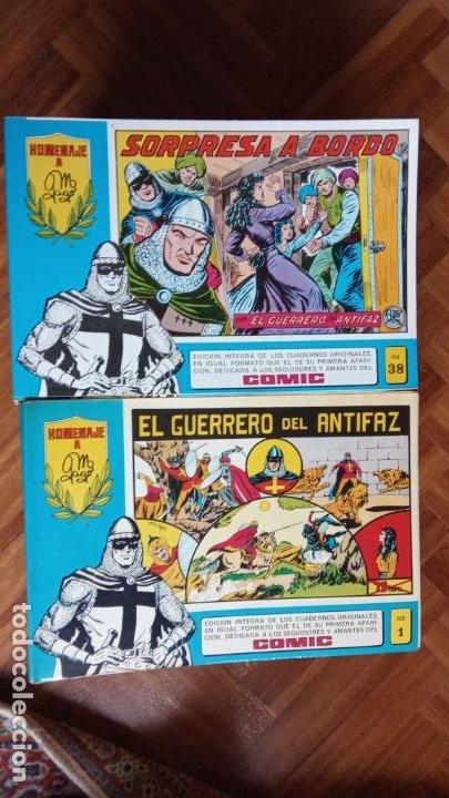Tebeos: EL GUERRERO DEL ANTIFAZ HOMENAJE A GAGO - 73 NºS - Foto 6 - 198762001