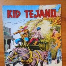 Tebeos: KID TEJANO Nº 6 - TENAZ PERSECUCION - COLOSOS DEL COMIC (CG). Lote 198787620