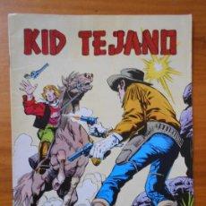 Tebeos: KID TEJANO Nº 8 - A TIRO LIMPIO - COLOSOS DEL COMIC (CG). Lote 198787738