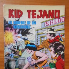 Tebeos: KID TEJANO Nº 9 - LA MUERTE DE UN MISERABLE - COLOSOS DEL COMIC (CG). Lote 198787850