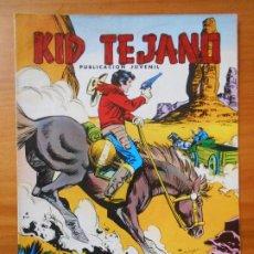 Tebeos: KID TEJANO Nº 18 - PERSECUCION FRUSTRADA - COLOSOS DEL COMIC (CG). Lote 198788345