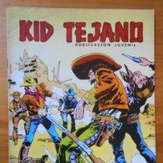 Tebeos: KID TEJANO Nº 22 - EL ENIGMA DEL VADO DE PIEDRA - COLOSOS DEL COMIC (CG). Lote 198788561