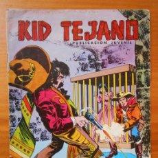 Tebeos: KID TEJANO Nº 25 - LA JAULA DE ORO - COLOSOS DEL COMIC - LEER DESCRIPCION (CG). Lote 198788792