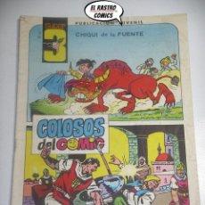 Tebeos: SUPER 3 Nº 7 , ED. VALENCIANA, COLOSOS DEL COMIC. Lote 198836685