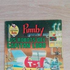 Tebeos: LOS ROBOTS DEL CAPITÁN LOBO-LIBROS ILUSTRADOS PUMBY Nº 29 AÑO 1971-EDITORA VALENCIANA S.A.. Lote 198847956