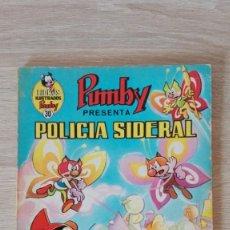 Tebeos: POLICÍA SIDERAL-LIBROS ILUSTRADOS PUMBY Nº 30 AÑO 1971-EDITORA VALENCIANA S.A.. Lote 198907451