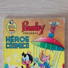 Tebeos: HÉROE CÓSMICO-LIBROS ILUSTRADOS PUMBY Nº 32 AÑO 1971-EDITORA VALENCIANA S.A.. Lote 198908186