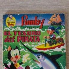 Tebeos: EL TESORO DEL PIRATA-LIBROS ILUSTRADOS PUMBY Nº 33 AÑO 1971-EDITORA VALENCIANA S.A.. Lote 198908761