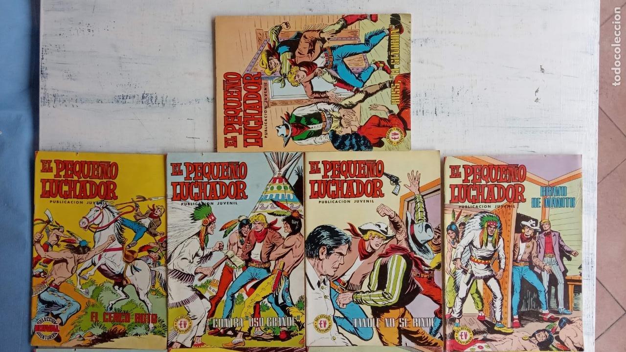 Tebeos: EL PEQUEÑO LUCHADOR COLOR EDI. VALENCIANA lote de 12 NºS - Foto 4 - 198908807