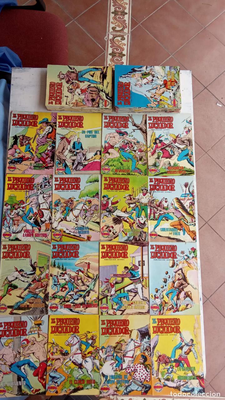 Tebeos: EL PEQUEÑO LUCHADOR COLOR VALENCANA 47 NºS ESTÁN 1 Y 87 ÚLTIMO - Foto 3 - 198909511