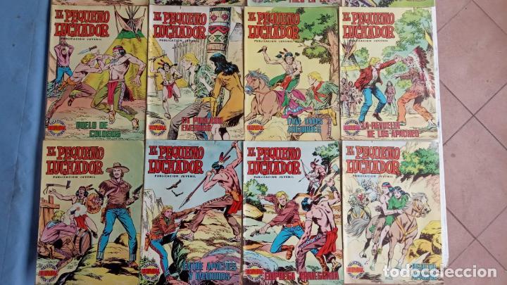 Tebeos: EL PEQUEÑO LUCHADOR COLOR VALENCANA 47 NºS ESTÁN 1 Y 87 ÚLTIMO - Foto 8 - 198909511