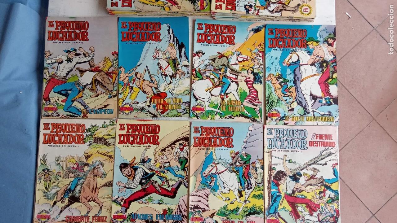 Tebeos: EL PEQUEÑO LUCHADOR COLOR VALENCANA 47 NºS ESTÁN 1 Y 87 ÚLTIMO - Foto 9 - 198909511