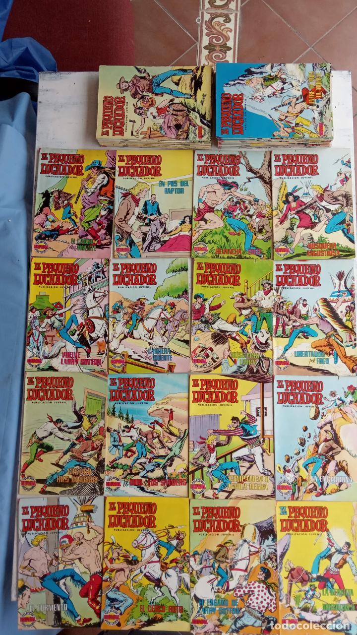 EL PEQUEÑO LUCHADOR COLOR VALENCANA 47 NºS ESTÁN 1 Y 87 ÚLTIMO (Tebeos y Comics - Valenciana - Pequeño Luchador)