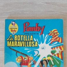 Tebeos: LA BOTELLA MARAVILLOSA-LIBROS ILUSTRADOS PUMBY Nº 38 AÑO 1971-EDITORA VALENCIANA S.A.MUY BUEN ESTADO. Lote 198910360