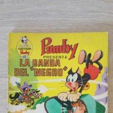 Tebeos: LA BANDA DEL NEGRO -LIBROS ILUSTRADOS PUMBY Nº 40 AÑO 1971-EDITORA VALENCIANA S.A.. Lote 198911412