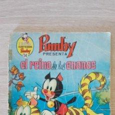 Tebeos: EL REINO DE LOS ENANOS -LIBROS ILUSTRADOS PUMBY Nº 54 AÑO 1973-EDITORA VALENCIANA S.A.MUY DIFÍCIL.. Lote 198912875
