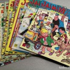 Tebeos: JAIMITO / LOTE DE 11 EXTRAS Y ALMANAQUES / VALENCIANA ORIGINAL. Lote 198990620