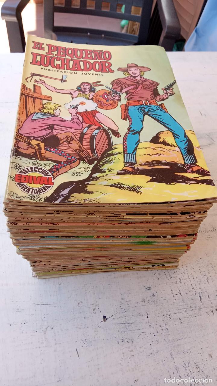 Tebeos: EL PEQUEÑO LUCHADOR COLOR 84 TEBEOS, FALTAN 3 NºS, VER FOTOS - VALENCIANA - Foto 3 - 199066291